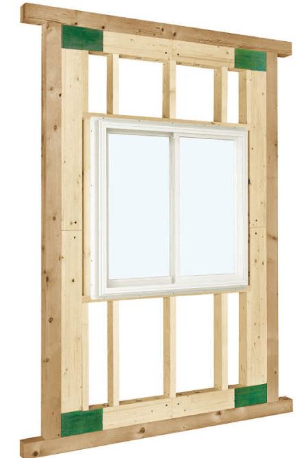 高性能トリプルガラス樹脂窓