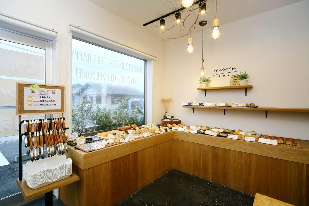 お店もパンも無添加にこだわってin富士市森島の施工ポイント