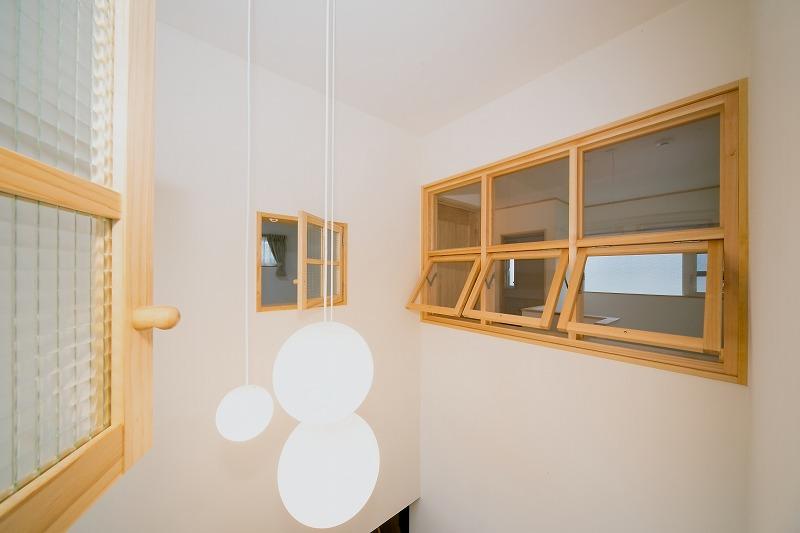 光と風のライブラリーの施工ポイント