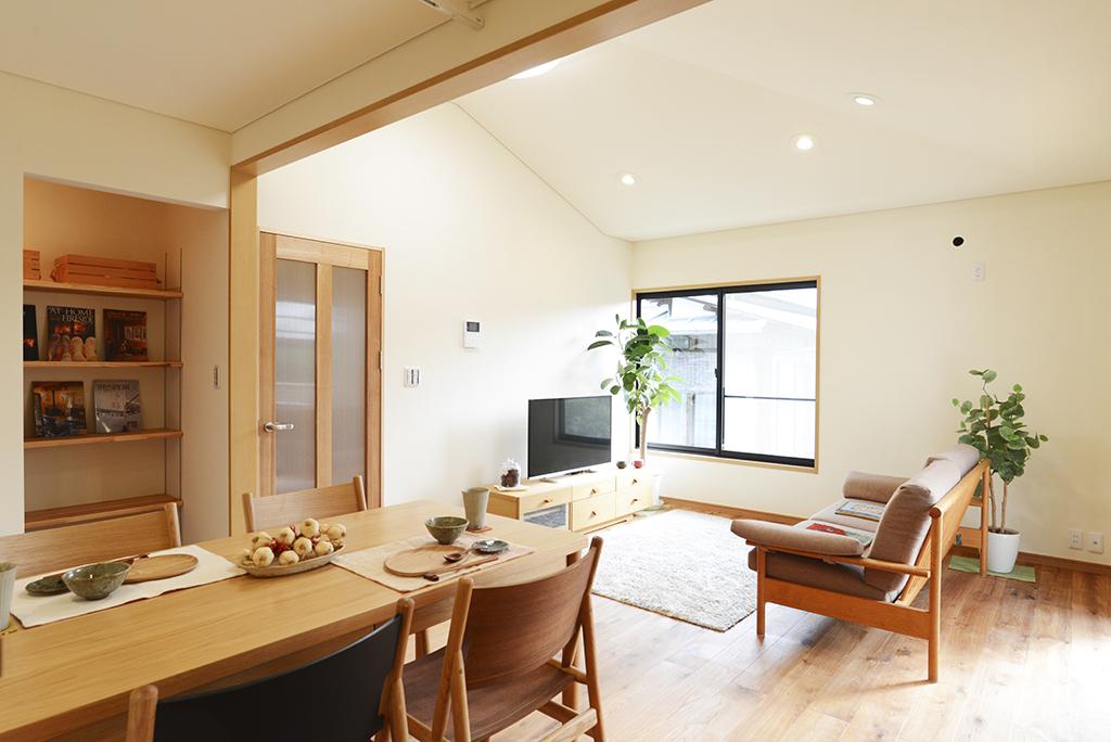室内の空気が一変!自然素材リノベーション